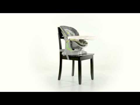 360º View of Ingenuity's ChairMate High Chair – Easton
