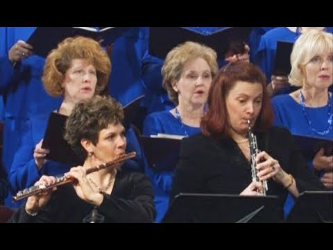 The Lord Is My Shepherd - Psalm 23 - Mormon Tabernacle Choir Songs-Choral Music Flute Harp Oboe Solo