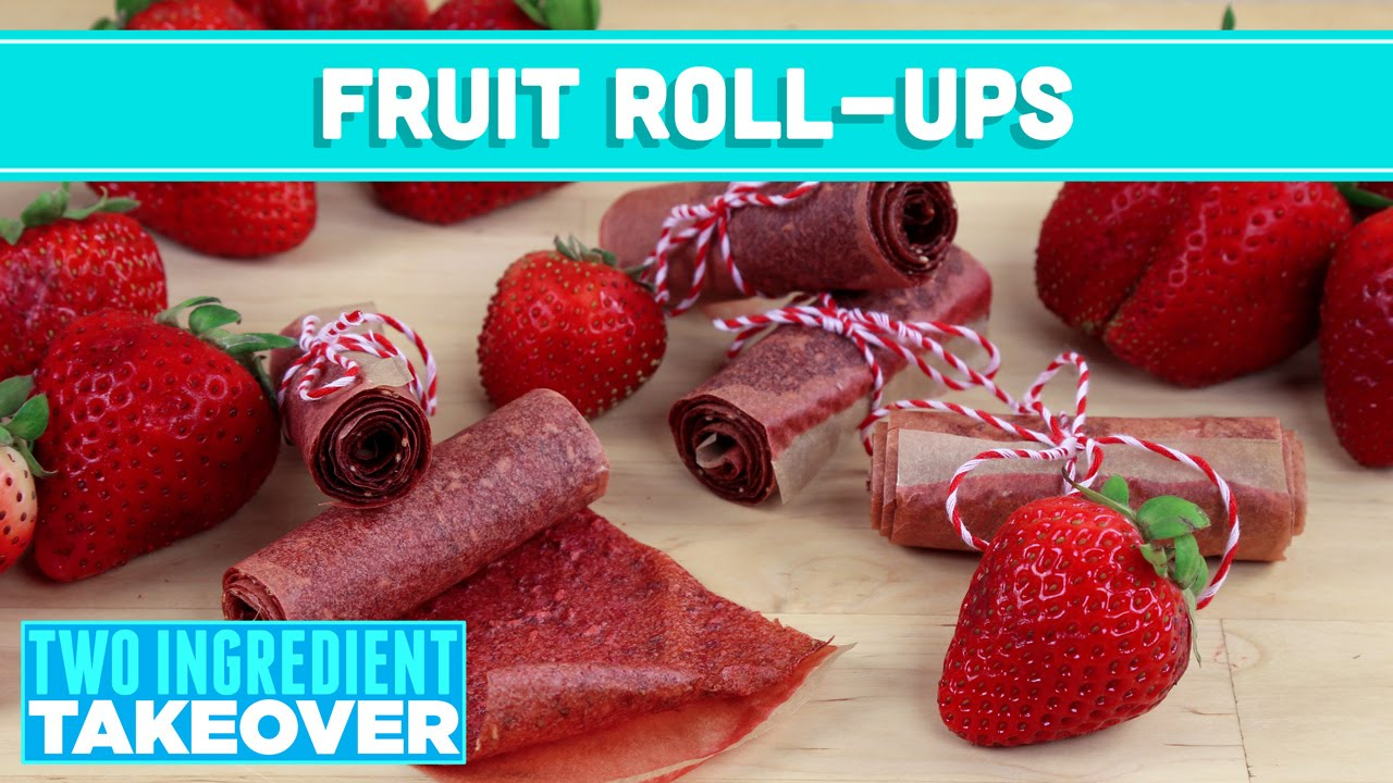 how to make healthy fruit roll ups red fruit
