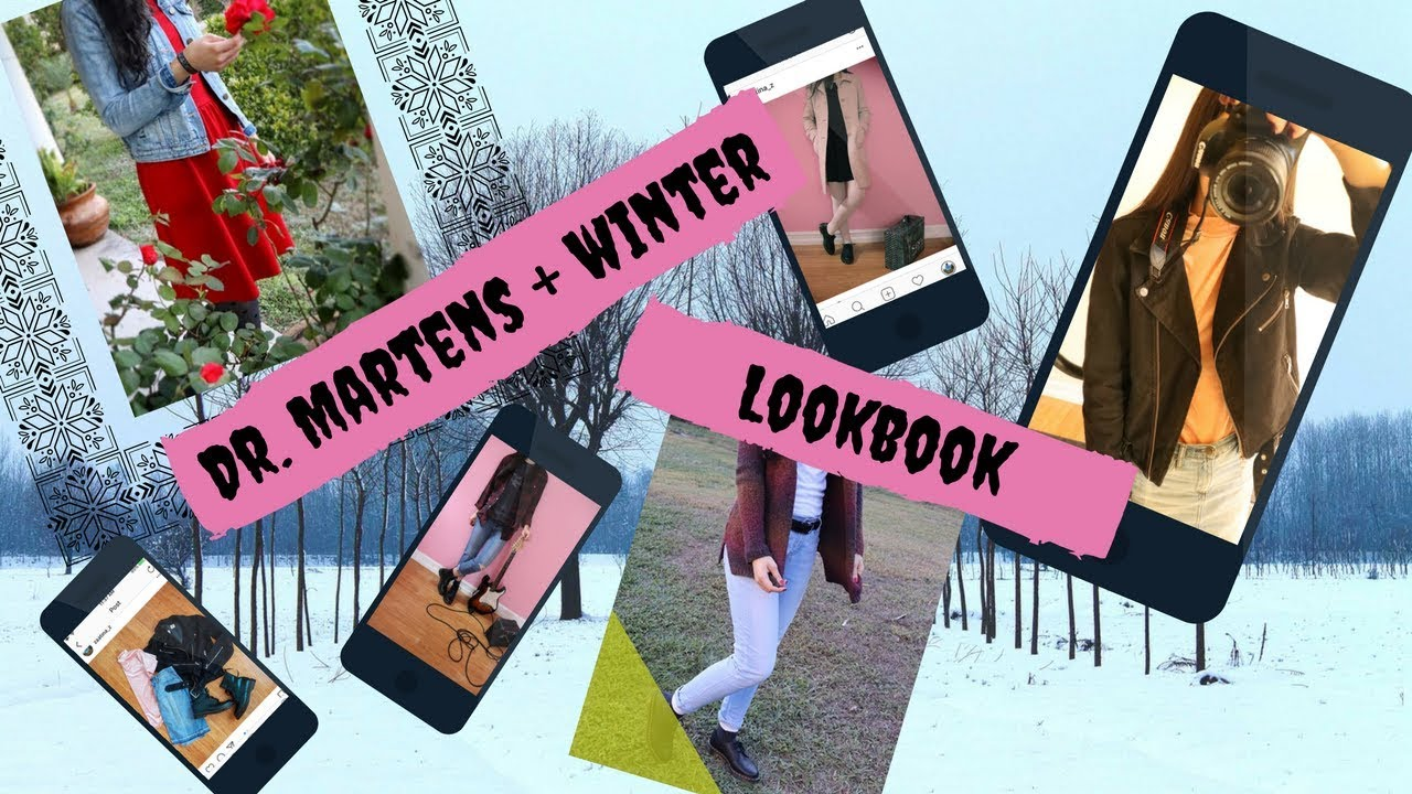 DR. MARTENS + WINTER LOOKBOOK (HOW I STYLE MY DR. MARTENS, OUTFIT IDEAS, GRUNGE OUTFITS) 1