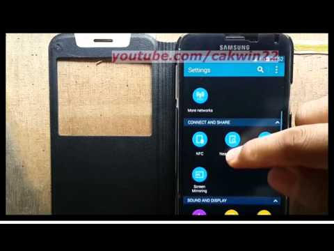 Samsung Galaxy S5 : How to add auto area code (Android Phone)