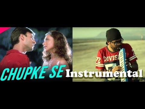 Chupke se Lag ja Gale rat ki Chader Tale | Cover song | instrumental | violin | Flute