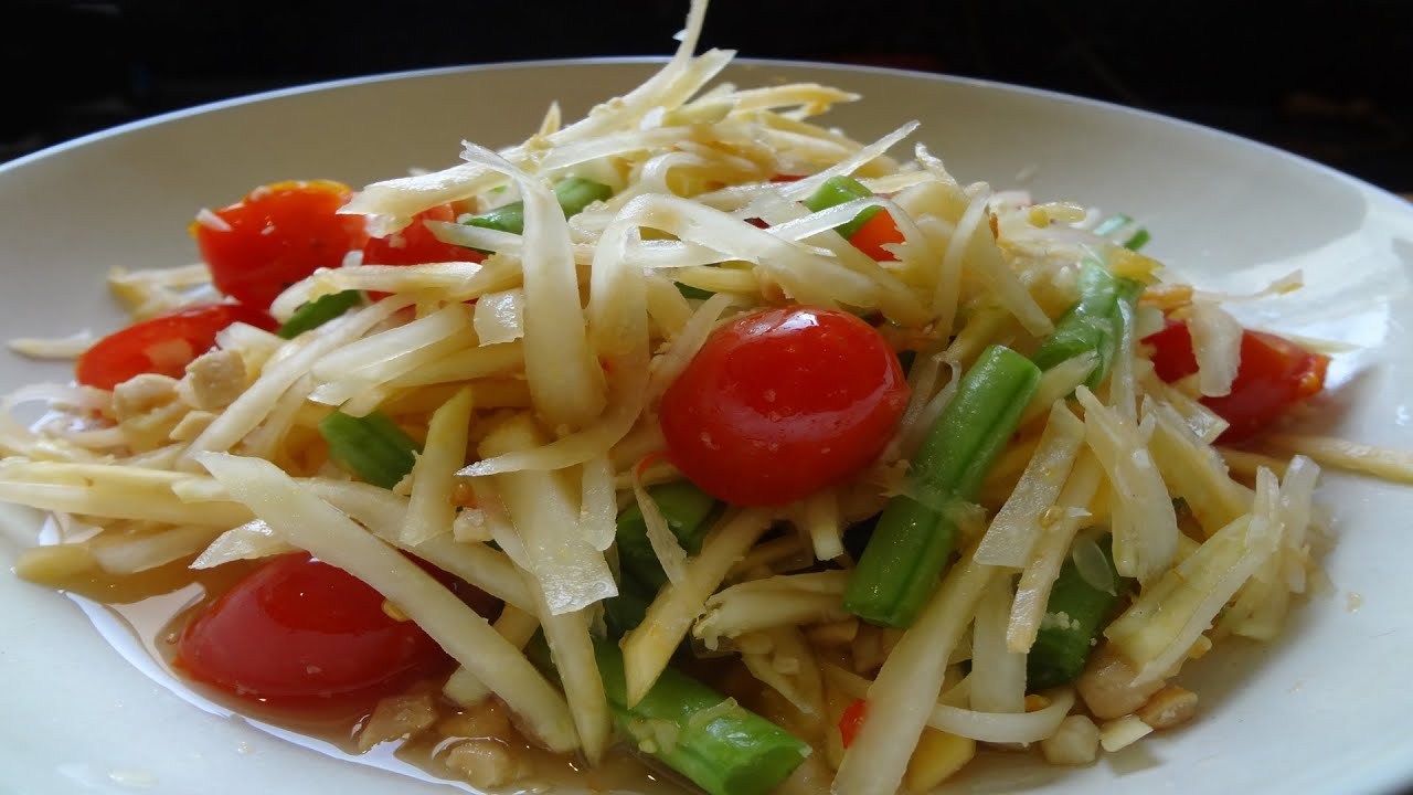 thai papaya and mango salad recipe