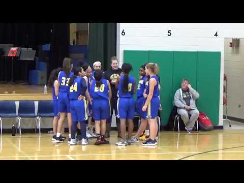 Spring Wood Chargers -VS- Roselle Middle School. Fourth Quarter. 11-14-2018