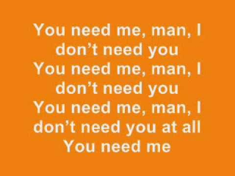 Ed Sheeran: You Need Me, I Don't Need You - Lyrics (+ Album Version)