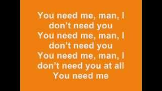 Ed Sheeran You Need Me I Don T Need You Lyrics Album Version