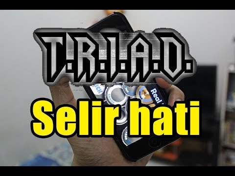 Cover Real Drum #3 TRIAD -  Selir hati