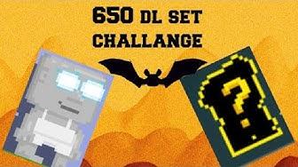 650 DL SET CHALLENGE!|GROWTOPIA