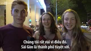 Cách người nước ngoài đón năm mới ở phố Tây (Sài Gòn) 01.01.2017
