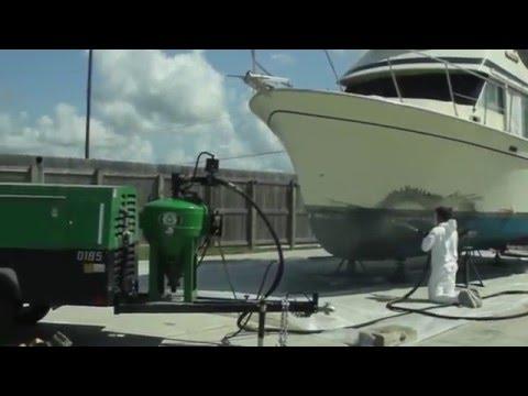 Titan Dustless Blasting Marine Antifouling Paint Removal