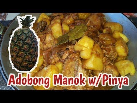 Adobong Manok With Pinya