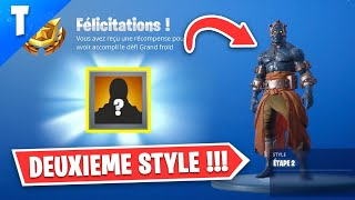 "DÉBLOQUER THE 2nd STYLE OF SKIN ""PRISONNIER"" ON FORTNITE! (secret key)"