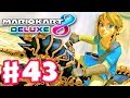 NEW DLC UPDATE! Breath of the Wild Link! Master Cycle Zero! - Mario Kart 8 Deluxe - Gameplay Part 43