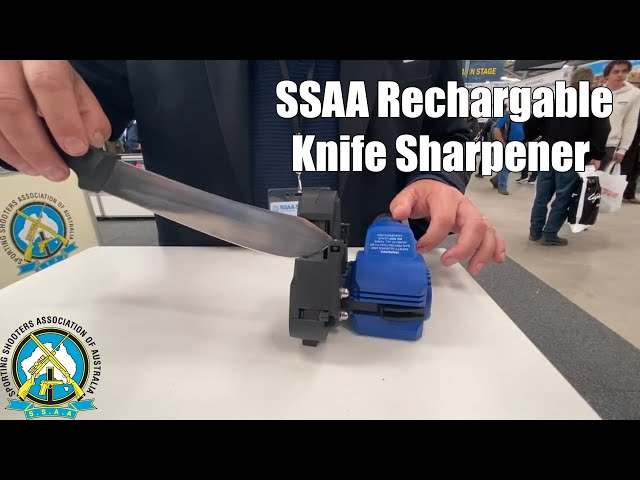 SSAA Rechargable Knife Sharpener