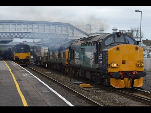Direct Rail Services 37218 and 37609 @ Bridgwater