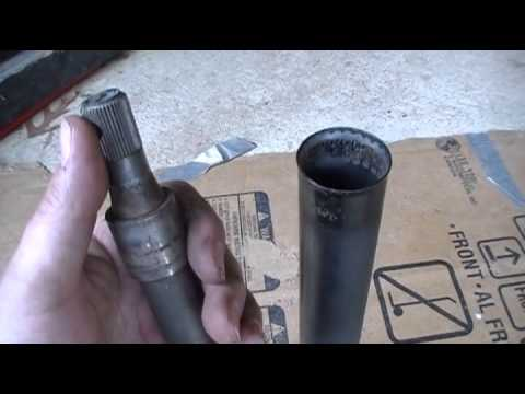 Volkswagen Super Beetle Steering Bearing & Bushing change