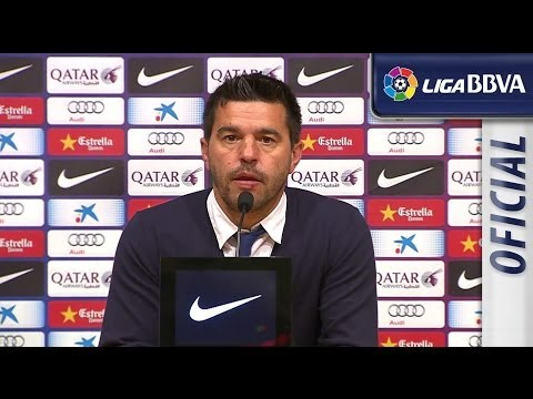 Press Conference Cosmin Contra after FC Barcelona (2-2) Getafe CF - HD