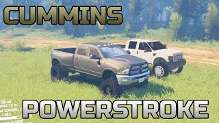 SPIN TIRES | CUMMINS 5500 AND F450 POWERSTROKE MOD REVIEW