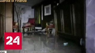 Надежды нет: спасатели еле нашли отель под тоннами снега и камней
