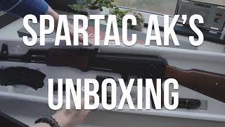spartac ak s unboxing ak47 en ak74