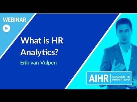 What Is HR Analytics? | AIHR [WEBINAR]