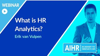 What is HR Analytics? | AIHR [WEBINAR]