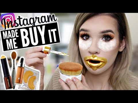 Thumbnail: FULL face using INSTAGRAM HYPED Makeup?! | WORTH IT or TOSS IT?