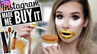 FULL face using INSTAGRAM HYPED Makeup?! | WORTH IT or TOSS IT?
