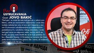 BEZ USTRUČAVANJA - Jovo Bakić: Vučić je dozvolio da mafija zarobi državu!