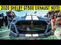 2020 Ford Mustang Shelby GT500 - Exhaust Note - Exterior & Interior Walkaround