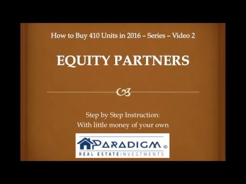 Equity Partner - Paradigm Real Estate