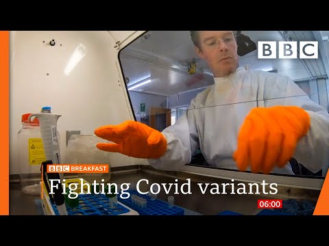 Covid-variant vaccines fast-tracked with more investment @BBC News live 🔴 BBC