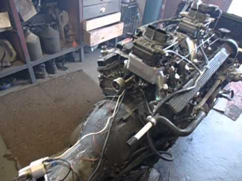 Jaguar V12 With Holley Conversion