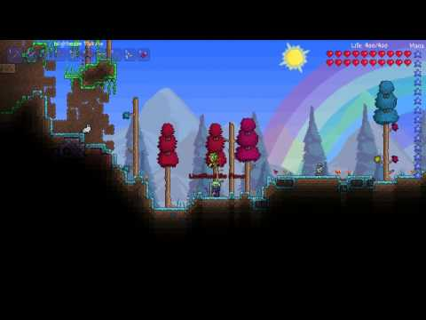 Let's play Terraria 1.1 Ep 5 - Cobalt drill