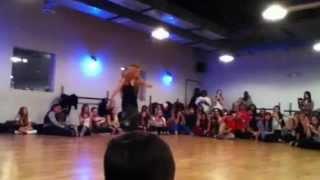 Chachi's Class at ICON Dance Complex 12/29/11
