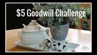 $5 Goodwill Challenge Summer 2018 | Kitchen Table Decor | #IAmaCreator