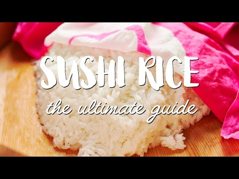 BEST Sushi Rice Recipe (寿司飯) Step-By-Step Guide