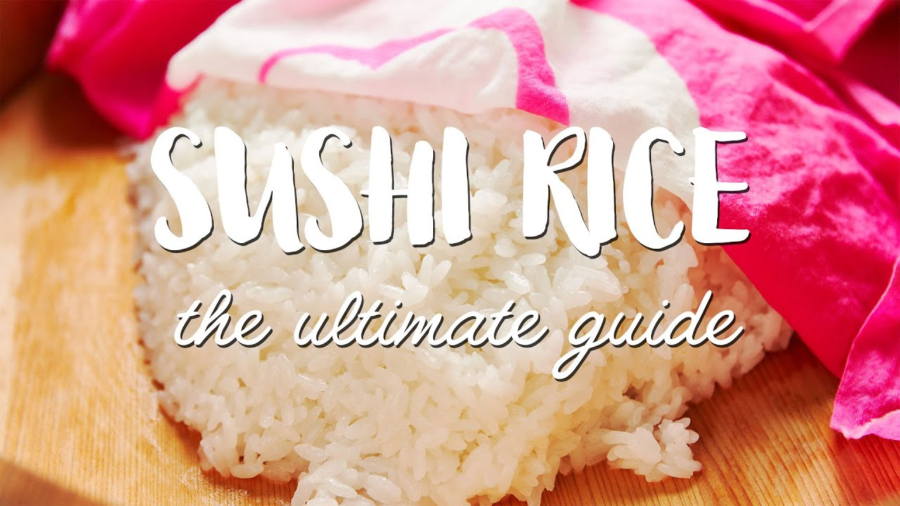 Sushi Rice Recipe Tutorial How To Make Sushi Rice With Step By Step Photos