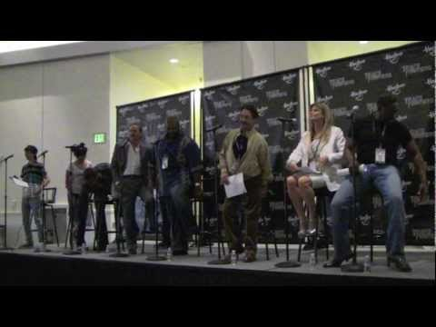 Transformers Prime Cast & G1Beast WarsAnimated Voice Actors from Botcon 2011!