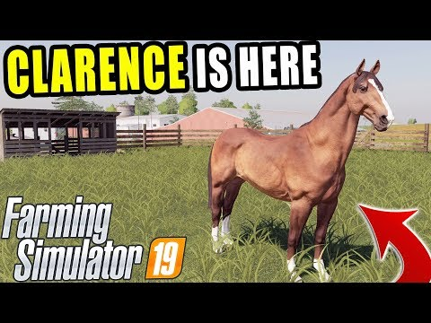 HORSE GAME PLAY! - FIRST LOOK - FARMING SIMULATOR 2019 thumbnail
