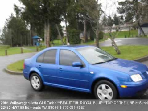 2001 volkswagen jetta gls turbobeautiful royal bluetop youtube sciox Image collections