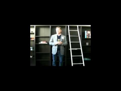 "Mark Kingdon aka M Linden opening Linden Lab Europe HQ in Amsterdam - Chantal Harvey"""