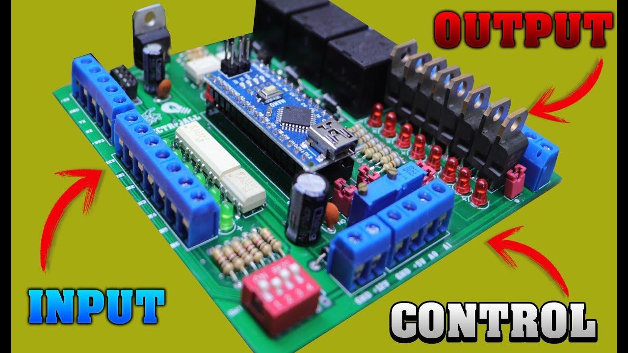 Como Hacer Modulo De Entradas Y Salidas Para Arduino Nano Pcb Fabricado Por Pcbway