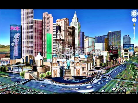 HISTORICAL PLACES OF NEVADA STATE,U S A  IN GOOGLE EARTH PART ONE  ( 1/2 )