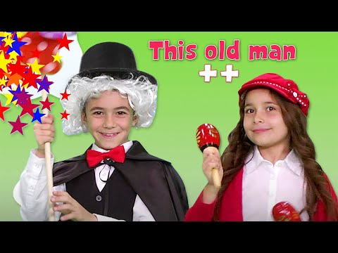 This Old Man & more | Nursery Rhymes & Kids Songs Compilation by ZouzouniaTV