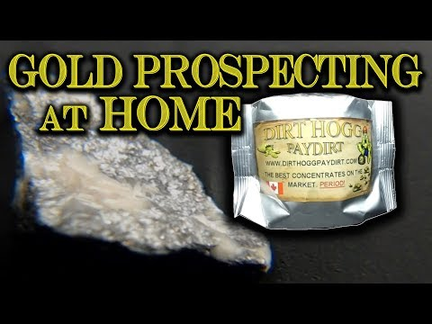 Gold Prospecting at Home #8 - Dirthogg Paydirt (Dirthogg Special)