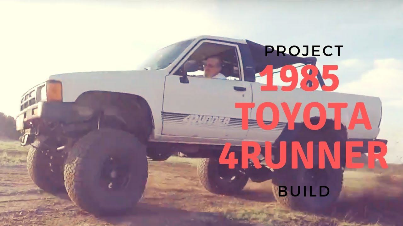 1985 Toyota 4Runner - Overland Truck Project
