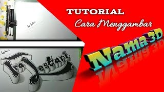 Download Video cara menggambar nama 3D MP3 3GP MP4
