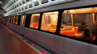HD: WMATA Trains at Potomac Avenue Station