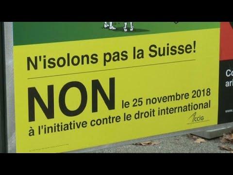 Suíços chumbam primazia do direito nacional em detrimento do direito internacional